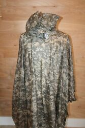 New Military Usgi Acu Wet Weather Poncho Universal Orc Industries