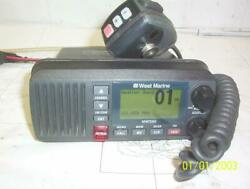 Boaters' Resale Shop Of Tx 2103 2444.12 West Marine Vhf595 Vhf Radio And Mic Only
