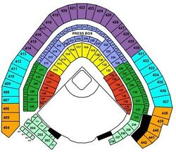 4 Brewers Vs Cubs 9/19 Section 315 Row 1 Club Level Tickets