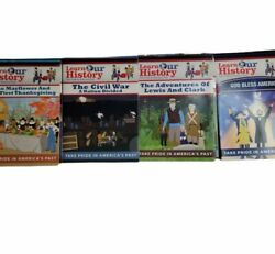 Learn Our History Dvds Lot Of 8 Brand New Sealed Homeschooling