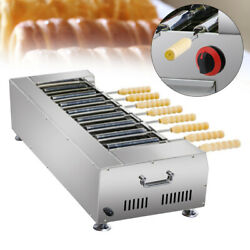 Heavy Duty Lpg Gas Hungarian Stainless Machine Chimney Cake Oven Roll Grill