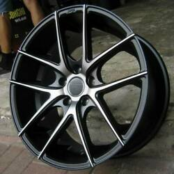 Staggered Rims 20 Inch Wheels For 2013 2014 2015 Camaro Ls Lt Rs Ss Only -5711