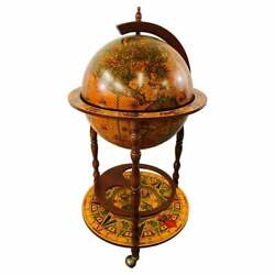 Large Terrestrial And Celestial Globe With Astrological Signs, Circa 1970