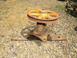 Woods Belly Mower Deck Ratchet Style Spindle Hub Pulley Assembly Cub Farmall