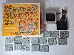 15 Molds Mattel Creey Crawlers Thingmaker 1964/1966 Working Oven Fright Factory