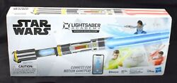 Open Box Star Wars Lightsaber Academy Interactive Battling System Ages 6+