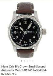 Mens Oris Big Crown Small Second Automatic Watch 0174576884034-0752277fc 1700.