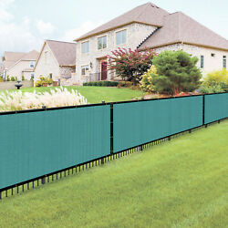 7ft Lake_blue Large Fence Privacy Screen 95 Blockage Mesh W/gromment