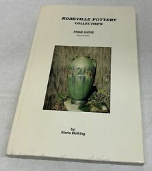 Roseville Pottery Collector's Price Guide By Gloria Mollring 1998 Paperback
