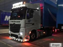 Roof Bar+leds+led Spots+clear Beacons For Mercedes Actros Mp4 12+ Gigaspace