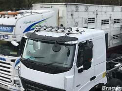 Roof Bar + Leds + Led Spots S + Clear Beacon For Scania 4 Series Low Day Truck