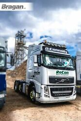 Roof Bar Black + Led + Led Spots + Beacons For Volvo Fm Series 2 And 3 Low Cab