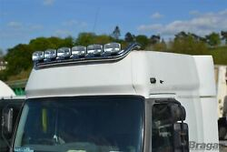 Roof Bar + Leds + Led Spots S For Man Tgx Pre 2015 Xxl Cab Truck Stainless Steel