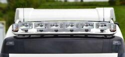 Roof Bar + Led Spots + Beacons X2 For Mercedes Actros Mp5 19+ Classicspace Truck