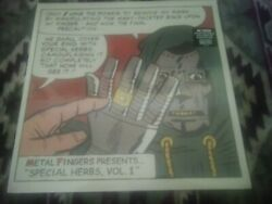 Mf Doom Metal Fingers Presents Volume 1and2 Vinyl Sealed High Times Records Htr105
