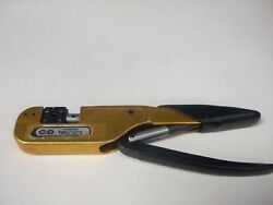 Tbdc12cx Crimp Tool With Y569 Crimp Die Mfg. Hughes And Daniels Condition Use