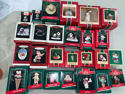 Lot Of 26 Vintage Hallmark Ornaments 1984 -1994 Mix Frosty Friends Collectors