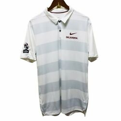 Oklahoma Sooners The Pride Marching Band Nike Dri-fit Polo Shirt Men's Large