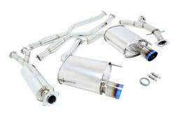 Megan 4 Dual Titanium Tips Oe Rs Catback Exhaust Is250 Is350 Gse20 Gse21 Rwd