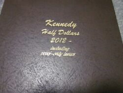Complete Set P-d-s-proof + S-silver Proofs 2012-2021 Kennedy Half Dollars