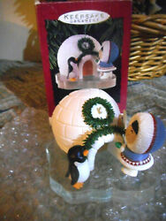 Hallmark Handcrafted Ornaments 1993 Anniversary Frosty Friends 20 Years