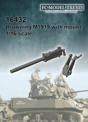 Fc Model Trend 1/16 Browning M1919 With Mount