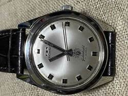 Technos Gold Shield Waterproof Antimagnetic Incabloc Manual Vintage Watch 1960and039s