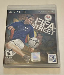 Fifa Street Playstation 3 Game Sony Ps3 Soccer Ea Sports Complete Black Label