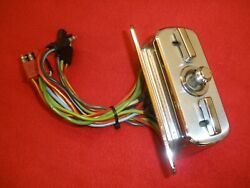 1966 Ford, Thunderbird 6-way Power Seat Control Switch And Bezel.