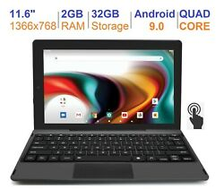 Rca 11.6 2gb Ram 32gb Quad Core Ips Touch Screen Android 9.0 1 Year Warranty
