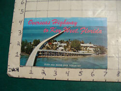 Vintage High Grade Travel 1962 Overseas Highway To Key West Picturamic Pictures