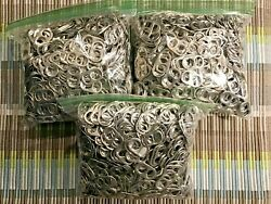1,000 Aluminum Pull Tabs, Pop Top Soda Can Beer Energy Charity Fund Raiser Event