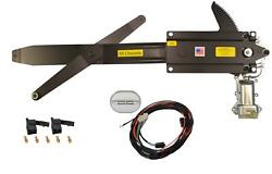 1968-1972 El Camino Front Door Power Window Kit With Ftfg Switches For Console