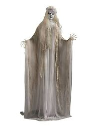 Victorian Trading Co Interactive La Dame Blanche Life Size Animated Ghost Figure