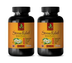 Stress Guard - Stress Relief B And C - Antioxidant For Health And Wellness 2 Bottle
