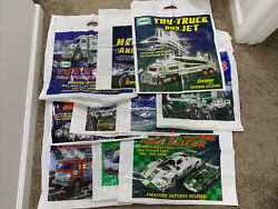Lot Of 10 Vintage Hess Truck Bags No Trucks Bags Only