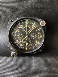 Elgin Watch Company An5741 Military Aircraft Clock 8 Day Cockpit Dash Elapsed