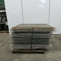 48x55 Wire Decks Pallet Racking Shelf For West Point Cantilever Rack Lot Of 32