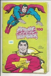 Comic Reader 100 1973 Marvel Preview Spider-man 129 1st Punisher Kirby Cover