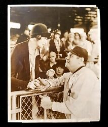 1927 Babe Ruth Babe Comes Home Type 1 Wide World Photos Used For Movie Poster