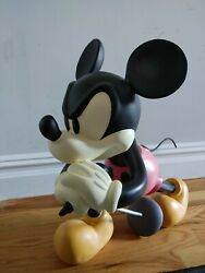 Number Nine 9th Anniversary Mickey Mouse Figure Scale Size