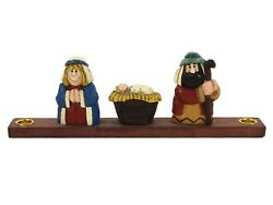 Midwest Of Cannon Falls Nativity 9.5 Candle Holder Christmas Eddie Walker