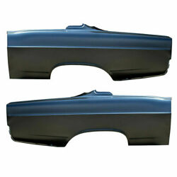 Rear Lh And Rh Side Quarter Panel Amd Fits Ford Fairlane