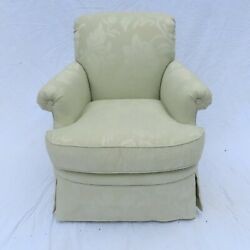 Edward Ferrell Lewis Mittman Club Chair Armchair Upholstered A+ Condition White