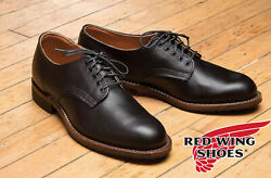 New Red Wing 9047 Beckman Oxford Black Usa Mens 12 D Featherstone Leather Boots
