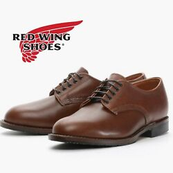 New Red Wing 9046 Beckman Oxford Derby Teak Brown Usa Menandrsquos 12 D Leather Shoes
