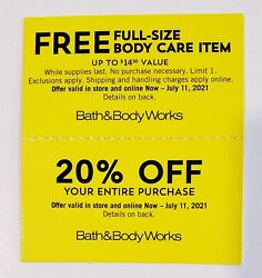 Bath And Body Works 20 Off. Total 10 Sets 20 Cps Exp 7/11/21