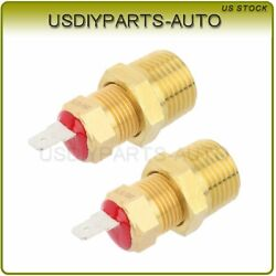 185 Degree Electric Radiator Thermostat Temperature Switch 2pcs For Cooling Fan