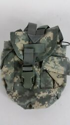 Molle Ii Acu Digital Camo 1 Qt Canteen Cover Utility Pouch Usgi Used Excellent