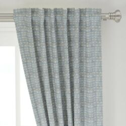 Texas Summer Retro Modern Desert Aztec 50 Wide Curtain Panel By Roostery
